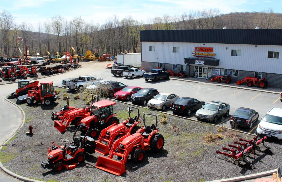 Pine Bush Equipment's Holmes, N.Y., location.