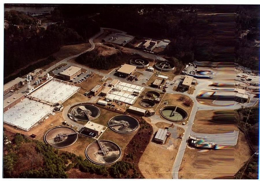 The Big Creek Water Reclamation Facility serves the largest service area and receives the largest amount of wastewater flow of all the reclamation facilities in the county's northern service area, outside of Atlanta. 