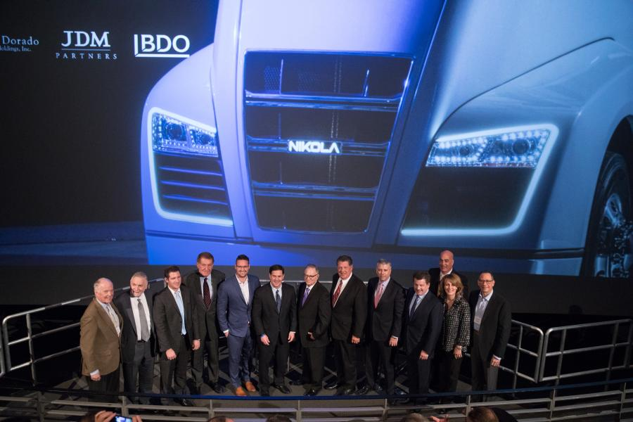 Nikola Motor Company has selected Buckeye, Ariz., for its Nikola Motor Company hydrogen-electric semi-truck manufacturing headquarters facility.