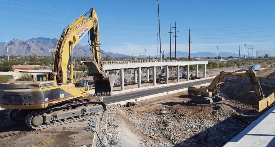 Ina Road, Ajo Way interchange projects move toward completion.