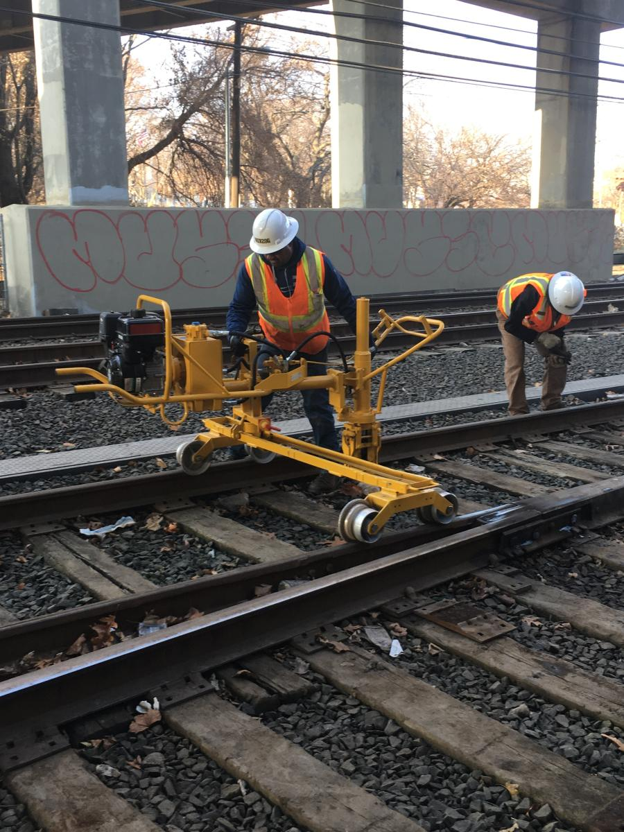 CTDOT Does Work in Advance of Larger Walk Bridge Replacement
