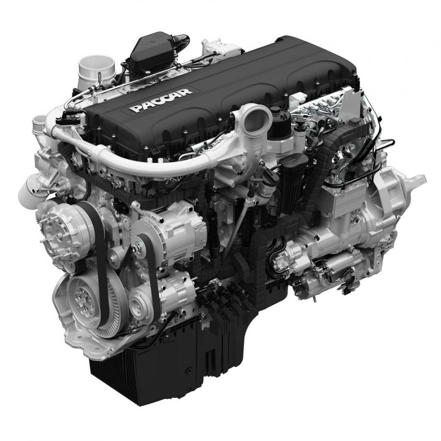 The 10.8-liter PACCAR MX-11 engine provides low-end power for applications requiring up to 430 hp and is rated at 1,650 lb.-ft. of torque.