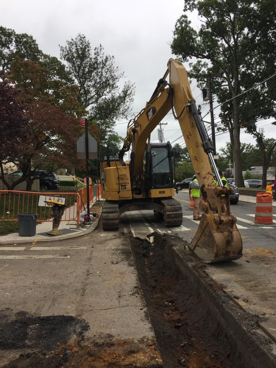 The installation of 8,390 linear ft. of new storm sewers and 90 catch basins will help to better manage the precipitation that falls in the area and reduce localized flooding.