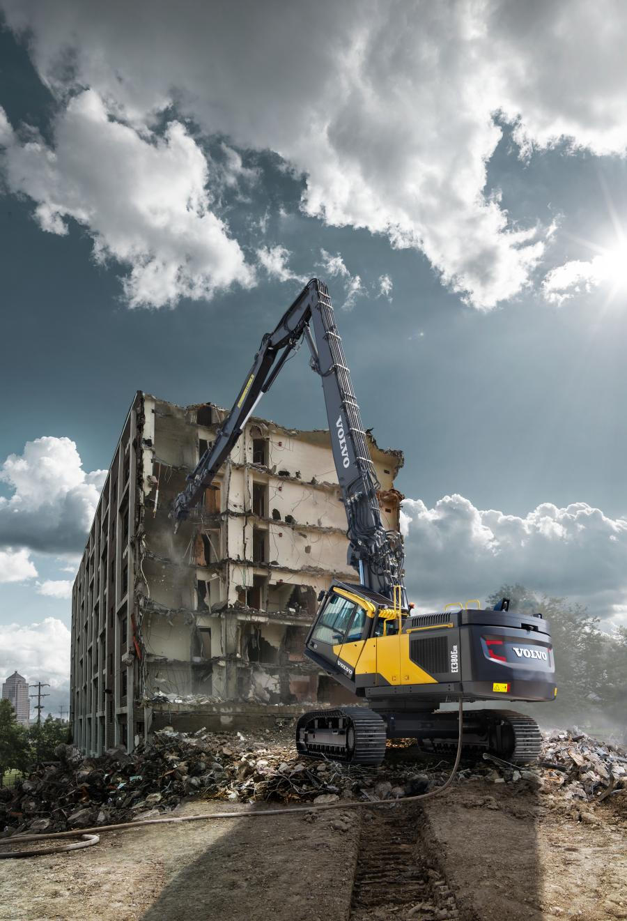 The Volvo Lifetime Frame and Structure Warranty now includes high-reach demolition excavators and wheeled excavators.