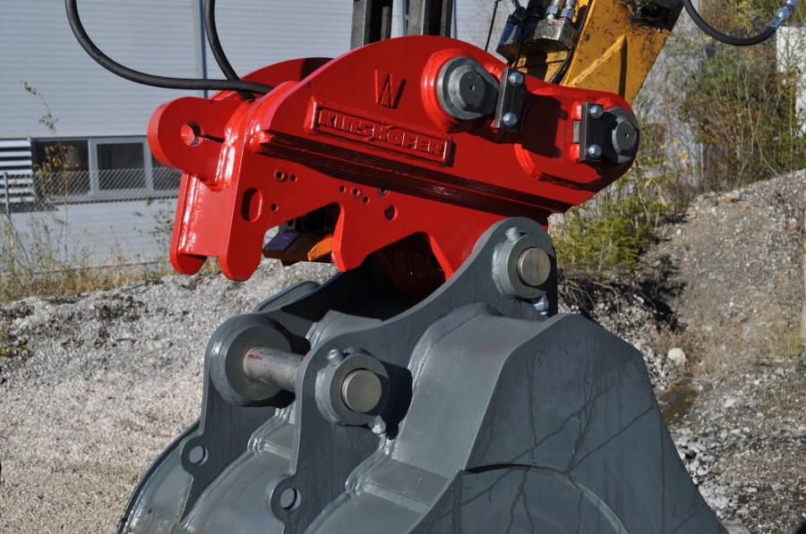 Kinshofer offers the X-Lock coupler, a safe and quick solution for exchanging excavator attachments on the job site.
