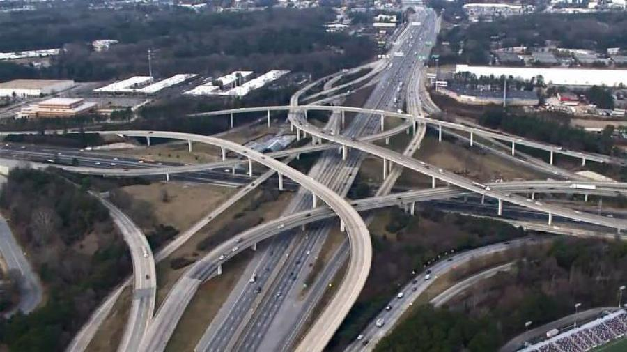 """The president is making infrastructure a priority, which is exciting for us at Georgia DOT because Georgia is very well positioned to compete for additional federal funding,"""" Commissioner McMurry said.  (NBC News photo)"""