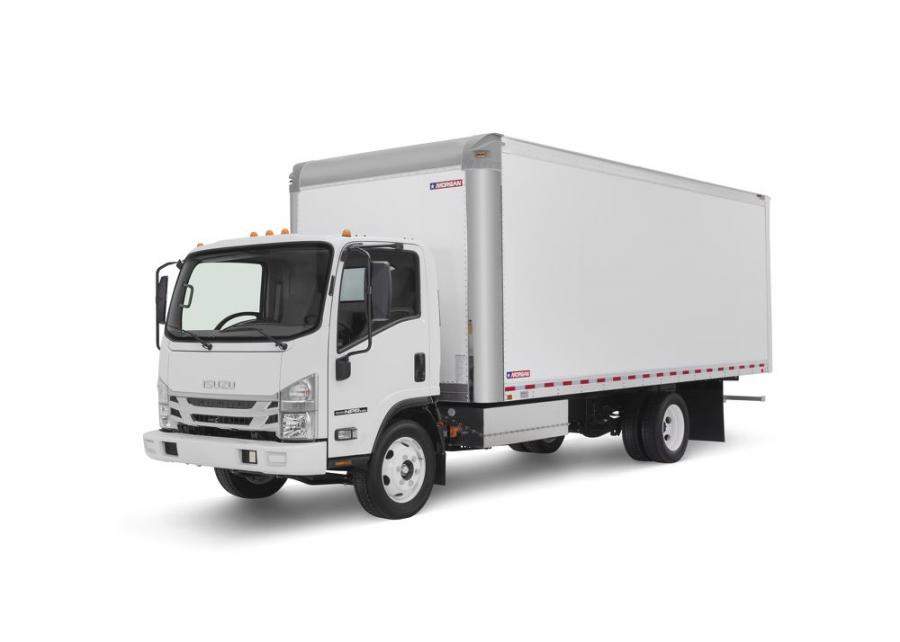 Isuzu Commercial Truck of America Inc. displayed an all-electric version of its N-Series truck at the National Truck Equipment Association's 2018 Work Truck Show in Indianapolis.
