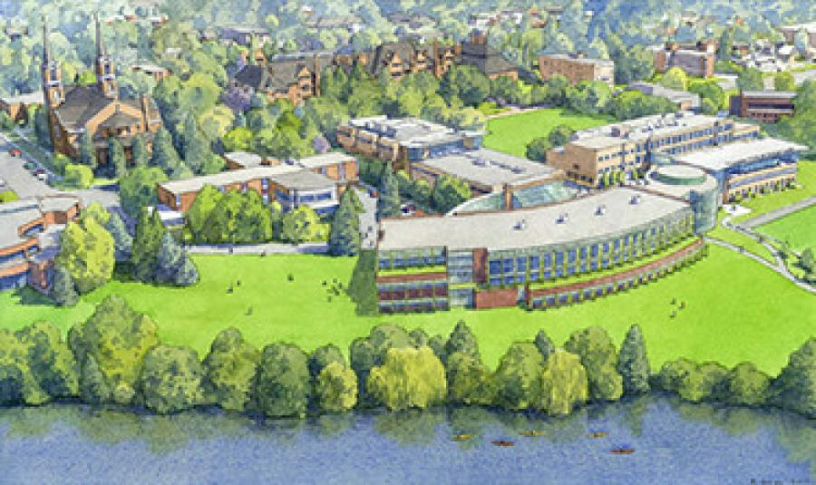 Gonzaga University won permission to build a $48 million science and engineering building.