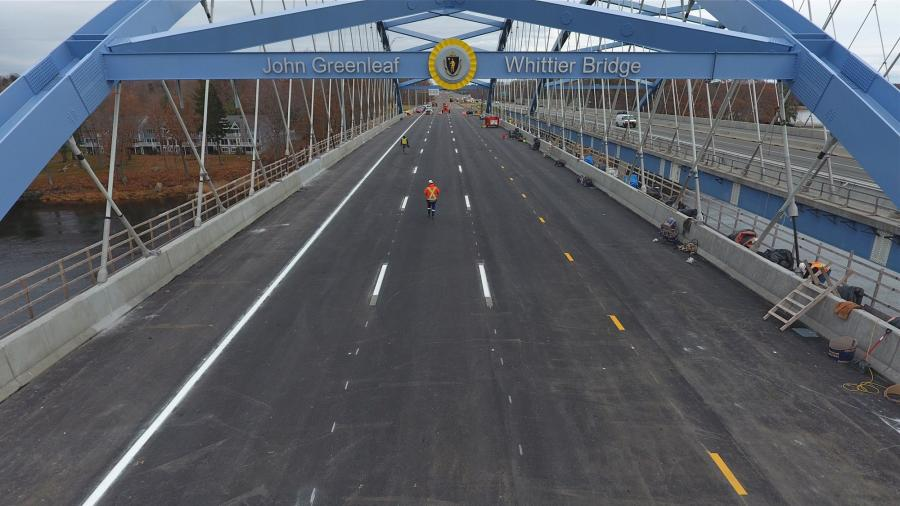 MassDOT's $317M Whittier Bridge/I-95 Improvement Project in Final