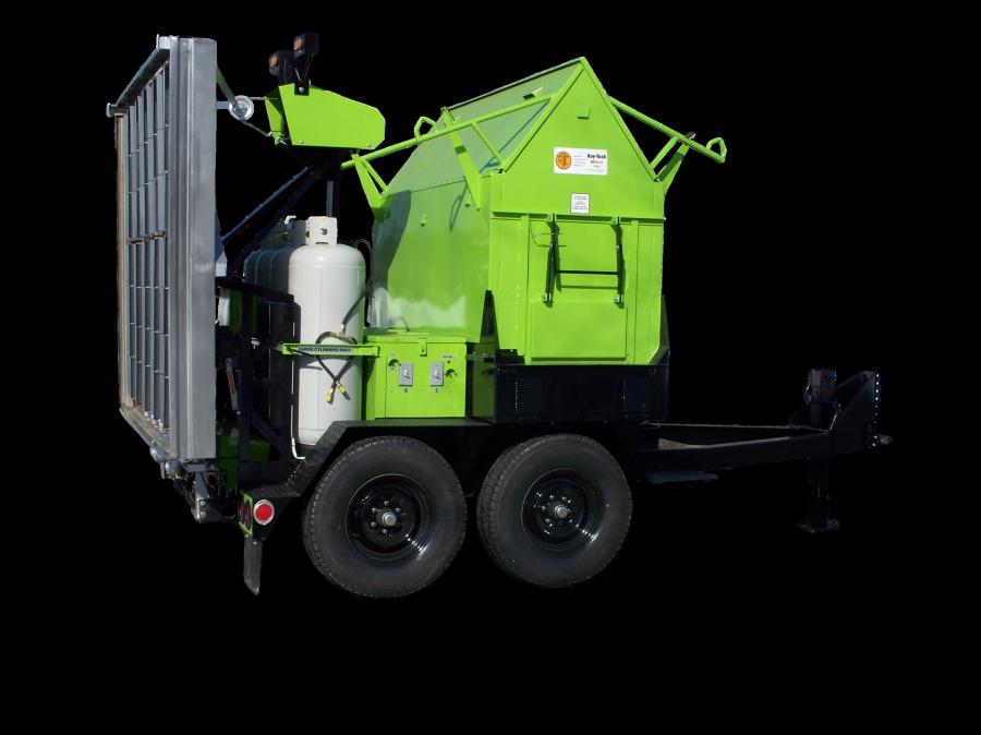 BKBC Machinery will now be carrying Ray-Tech Infrared products, including the 2-ton trailer-mounted combination unit.