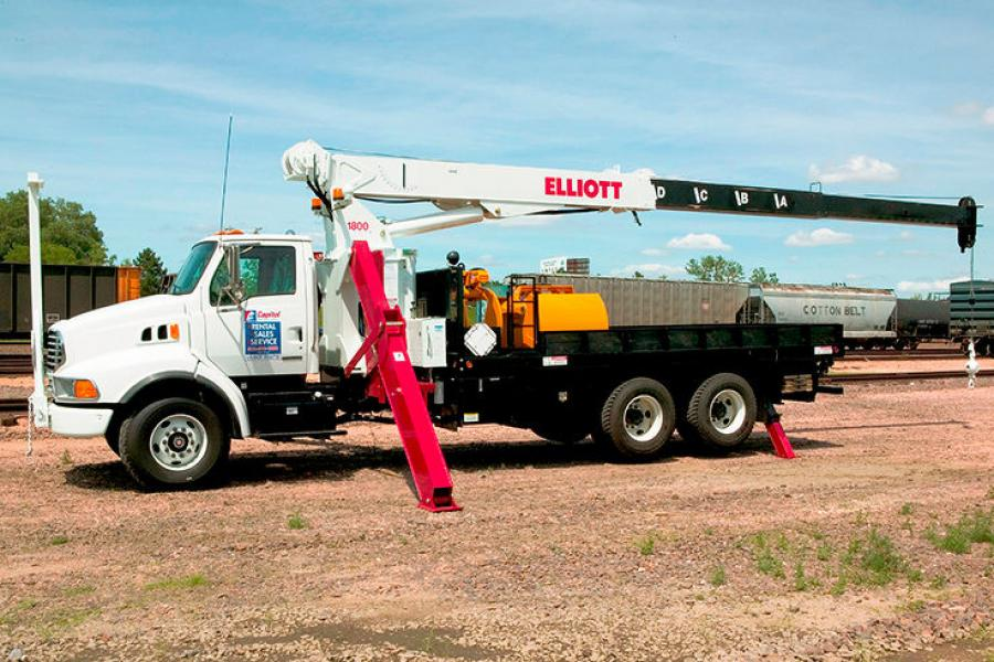 Stephenson Equipment Company has been added as a Boom Truck Distributor in New York for Elliott Equipment Company.