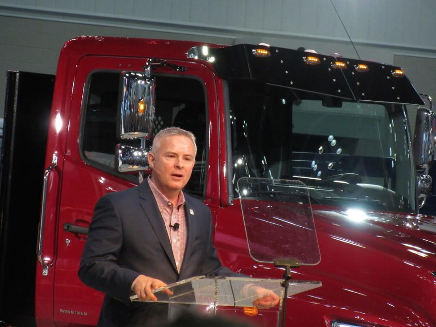 Hino Vice President of Customer Experience, Glenn Ellis, discusses the company's big move with its introduction of trucks in the Class 7 to 8 weight segment.