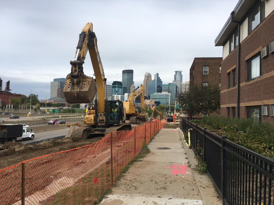 After years of talk and wishful thinking, a project to improve I-35W in downtown Minneapolis is finally under way.