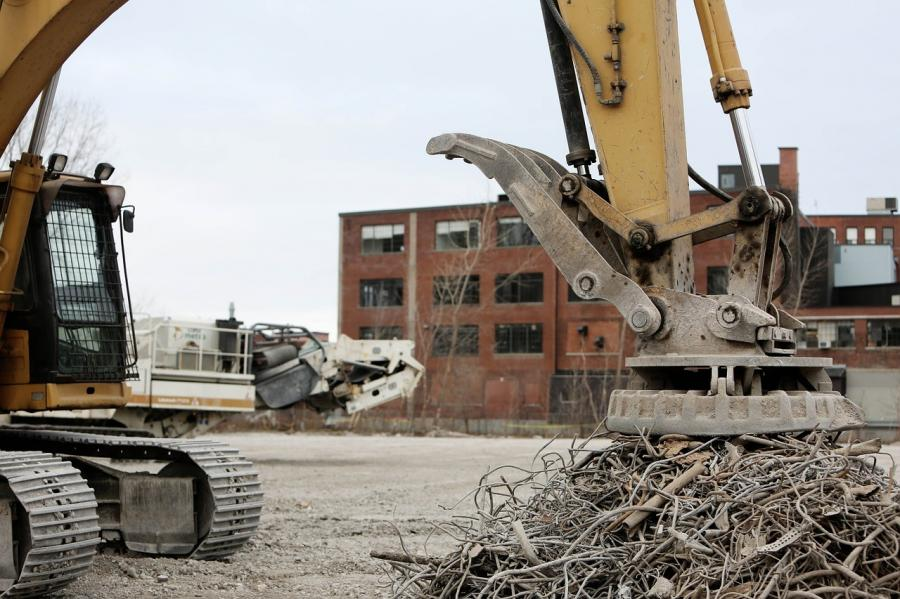 Construction and demolition waste in the U.S. accounts for one third of the entire nation's waste.