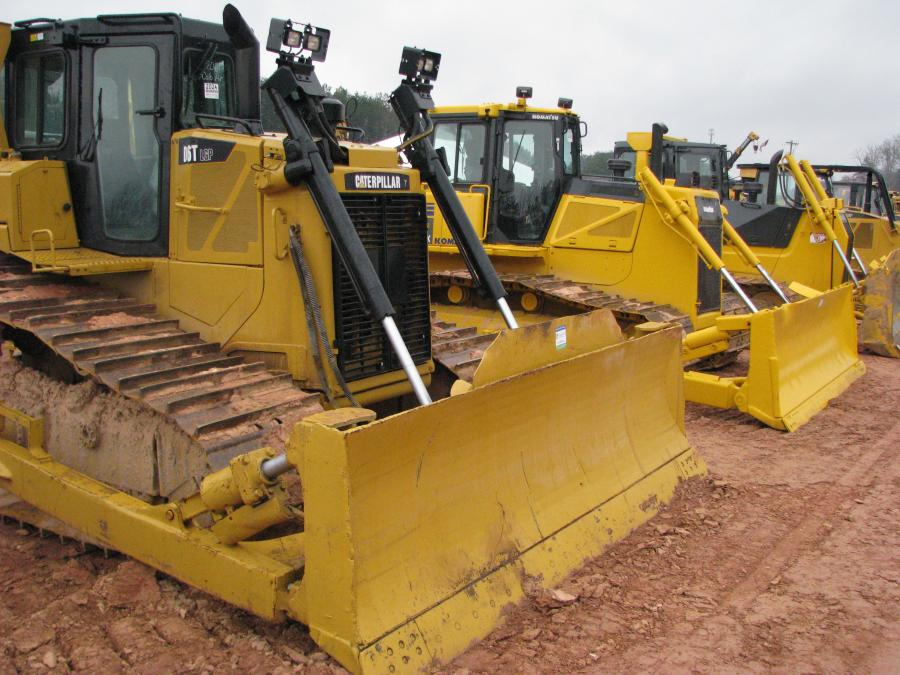 A nice selection of dozers were available in this sale lineup.