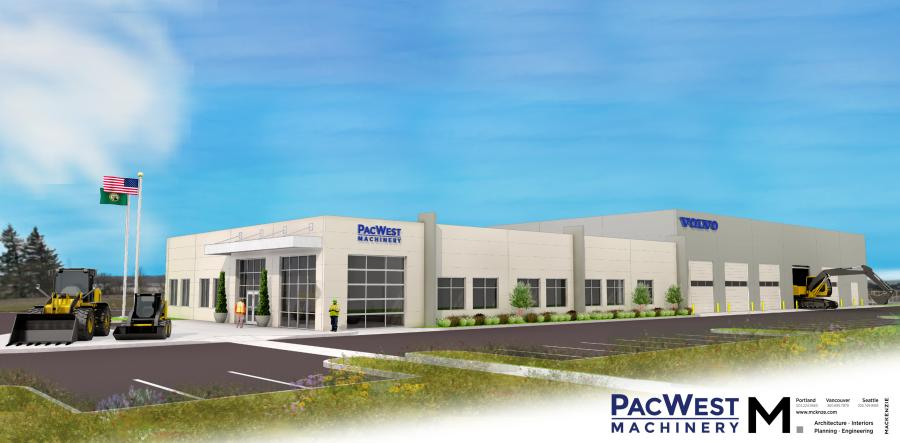 The new 30,000+-sq.-ft. building will sit on approximately nine acres and include a 14-bay service center designed to accommodate a full range of equipment.