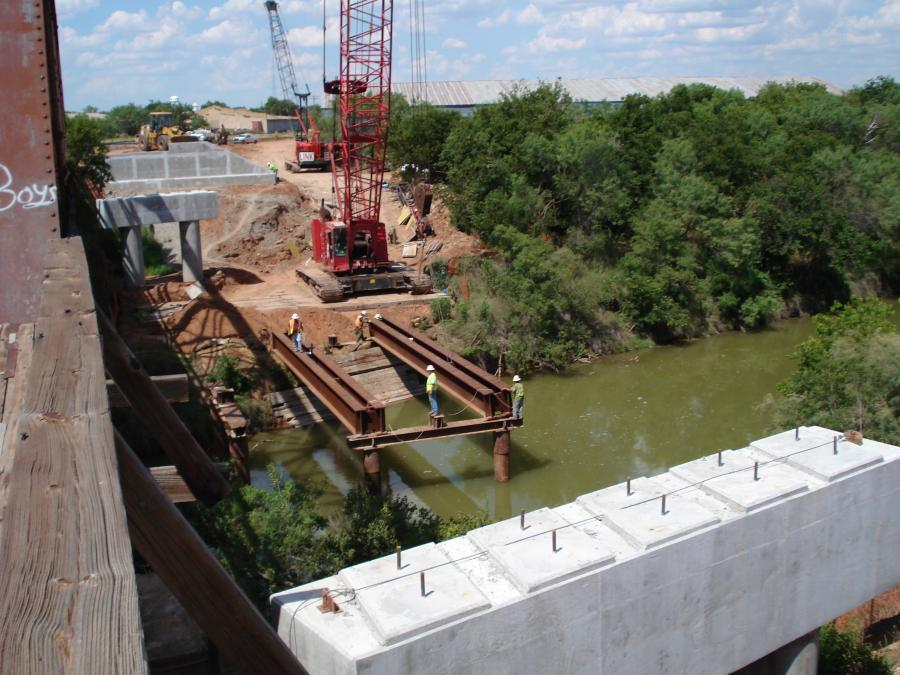 Funded through the Federal Highway Administration's (FHWA) National Highway Freight Network, the projects include a $5.4 million rehabilitation of 53.4 miles of track in Irion and Reagan counties, and a $4.1 million rehabilitation of 37.4 miles of track in Crane and Upton counties. (TxDOT photo)
