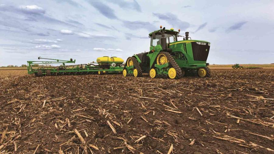 the first of the four track deere products rolled out in 2015 the 9rx