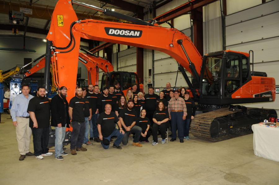 """""""You are only as good as the people you surround yourself with. We couldn't have achieved this without the help, dedication and commitment of our entire team,"""" said Giovanni Albanese, manager of Equipment East."""