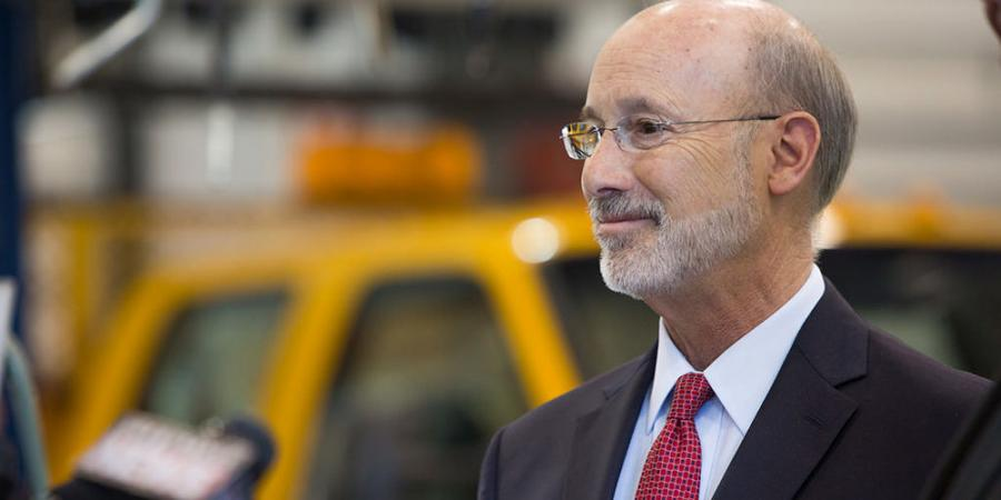 Gov. Tom Wolf announced projects will benefit communities in 22 counties throughout the state.