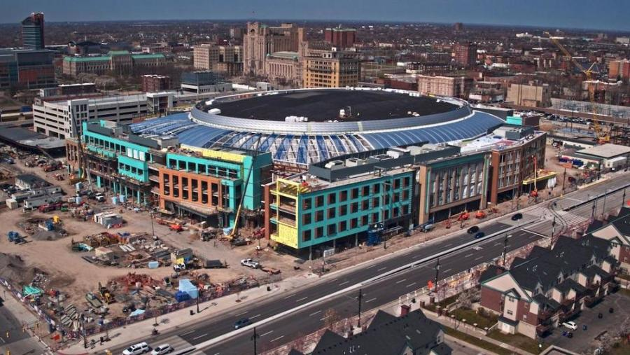 During the construction of Detroit's $862.9 million Little Caesar's Arena, just 25 percent of the hours worked by skilled-trades workers were residents of the city, despite Detroit's rule that 51 percent of hours completed on publicly funded projects be worked by those living in the city.