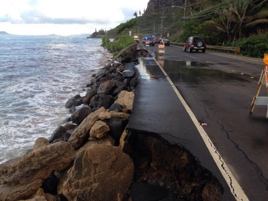 According to Ed Sniffen, the Hawaii DOT's deputy director, the state needs about $7.5 million for every mile of highway that must be raised, pushed back or relocated to prevent damages from erosion and flooding over the next 50 to 100 years.