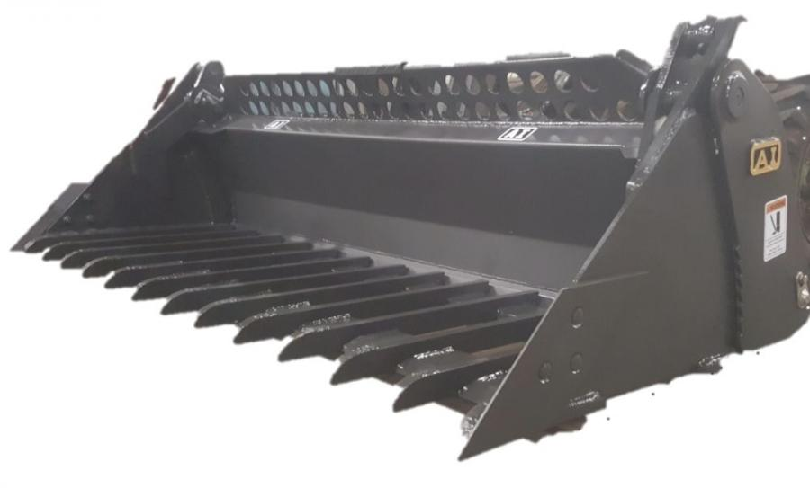 "Attachments International's mega mining bucket is a major addition to the company's ""Extreme Service Product Group."""