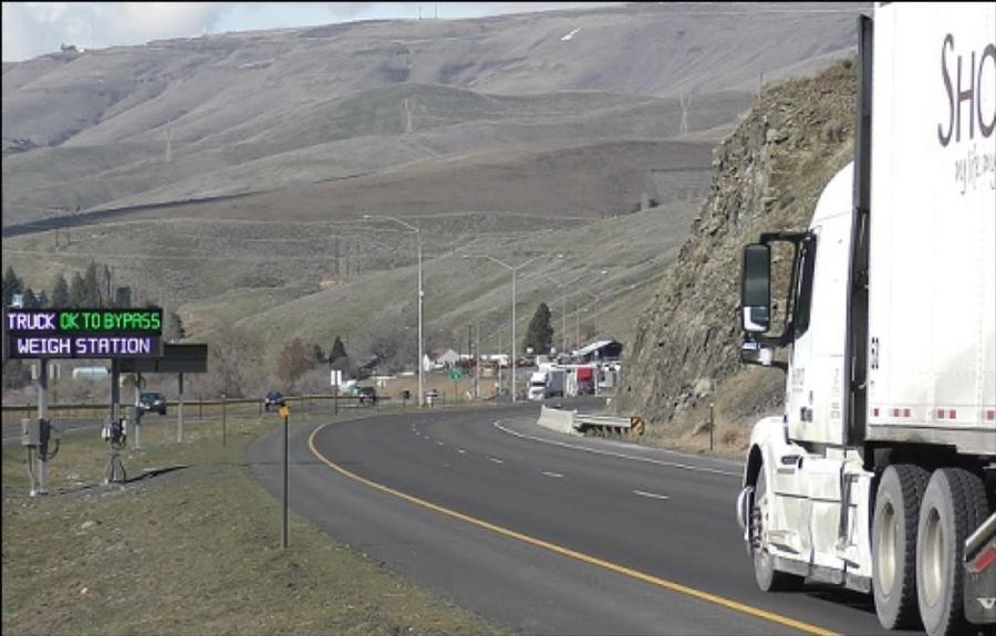 The Idaho Transportation Department said new equipment that helps commercial truck drivers bypass a weigh station in the Lewiston area can save truckers more than $900,000 this year in time and fuel costs.