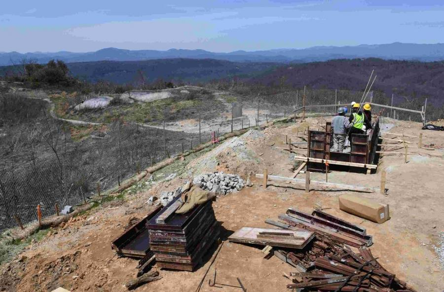 The $1.1 million project, which represents Phase I of a plan to make the 3,553-ft. peak more accessible, is expected to be completed in mid to late summer.