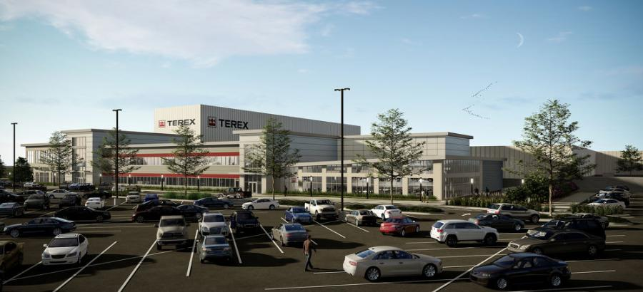 A rendering of the new facility.