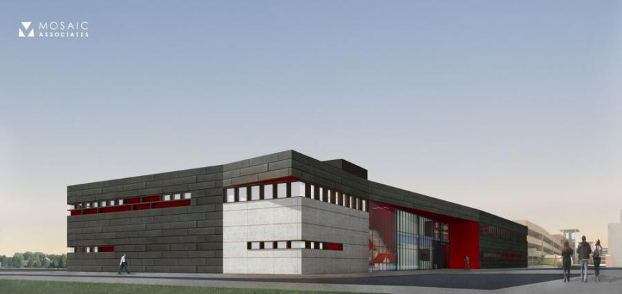 Empire State Development, the state's economic development agency, says work has begun on the construction of the Gene F. Haas Center for Advanced Manufacturing Skills at Hudson Valley Community College in Troy.