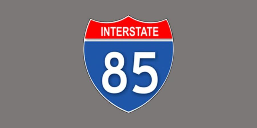 The Lane Construction Corporation has won a $181 million contract to widen Interstate 85.