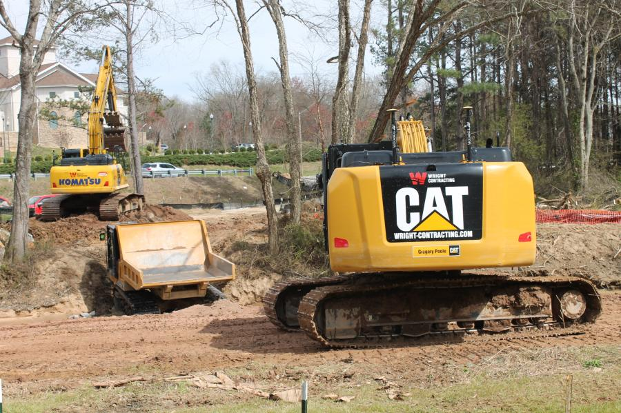 The work site was within the town's picturesque Smith Creek Greenway and was done to repair damage caused by flooding from Hurricane Matthew in the fall of 2016.