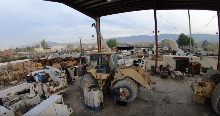 Sukut Construction, Inc., of San Bernadino, Calif., recently dismantled a Caterpillar 980G wheel loader.