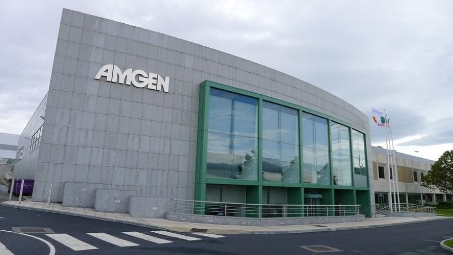 Amgen's biomanufacturing plant will be built on the current Amgen Rhode Island 75-acre campus.  (Amgen photo)