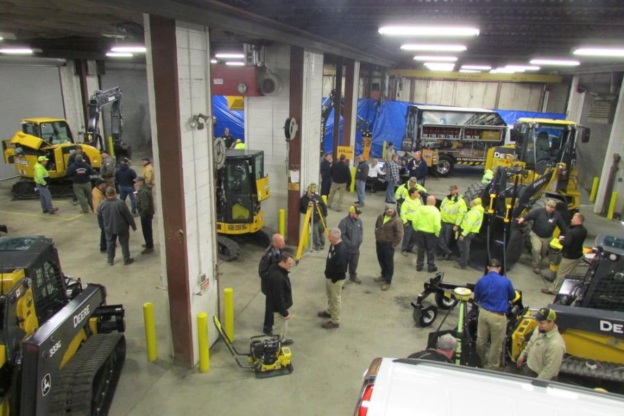 Many local highway departments and other municipal departments attended Plasterer Equipment's Municipal Day event in Bethlehem, Pa.