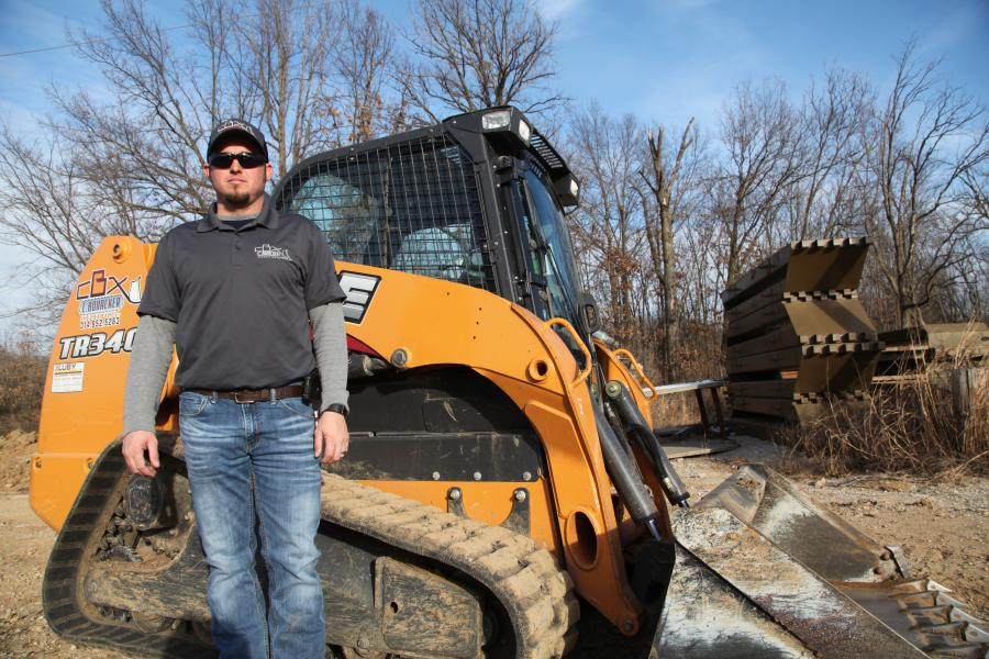 Chris Bonacker founded C. Bonacker Excavating in Eureka, Mo., last July.