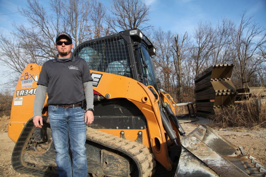 Chris Bonacker founded C. Bonacker Excavating in Eureka, Mo., last July.