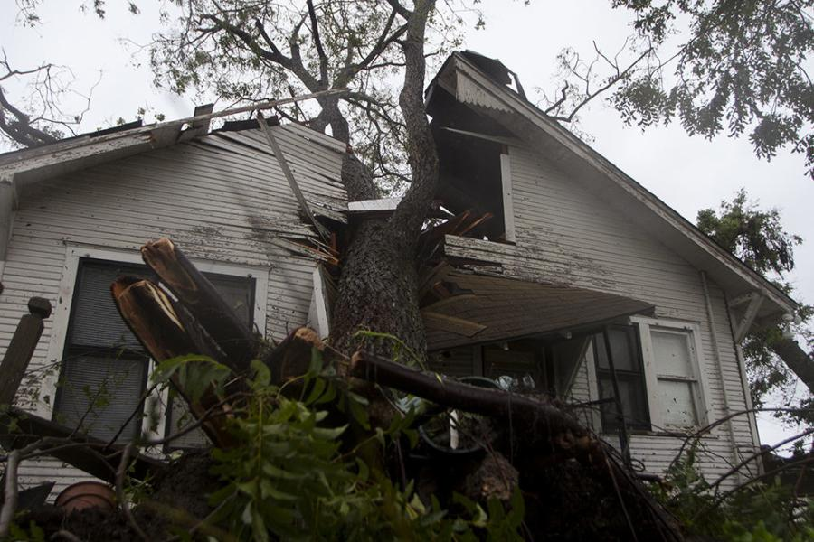 After the hurricane struck, more than 35,000 households across the county filed insurance claims, and more than 20,000 applied for FEMA assistance, according to the Insurance Council of Texas.