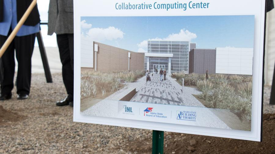 The Idaho National Laboratory held a ceremonial groundbreaking on April 11 for two new buildings.
