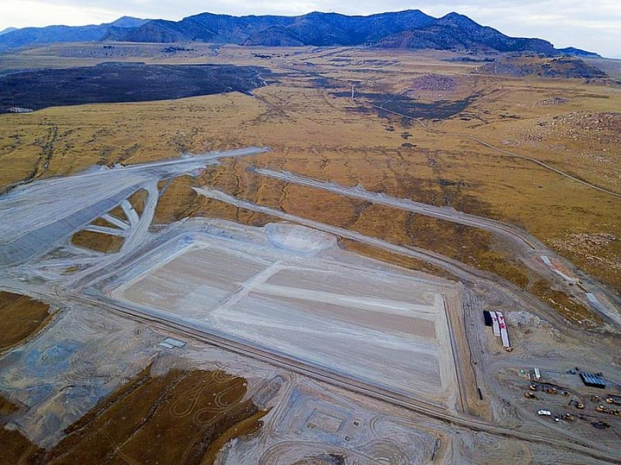 Promontory Point Resources LLC withdrew its bid to bring out-of-state industrial waste to a landfill it is building near the Great Salt Lake.