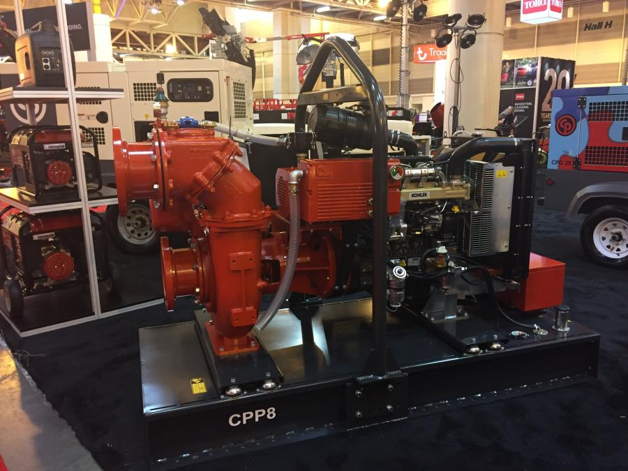 Chicago Pneumatic Power Technique (CP) has launched a new line of CCP vacuum prime centrifugal pumps. The three pumps include 4, 6 and 8-in. models.