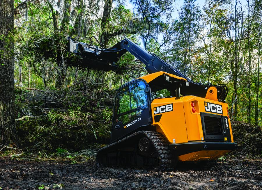 The JCB Teleskid is among a range of 24 machines offered by JCB to the U.S. Fish and Wildlife Service. Teleskid's telescoping Powerboom allows it to lift higher, reach further and dig deeper, making it well-suited to land management applications.