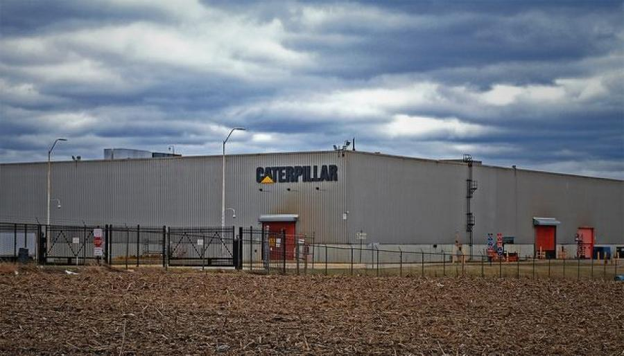 Caterpillar's Aurora facility.