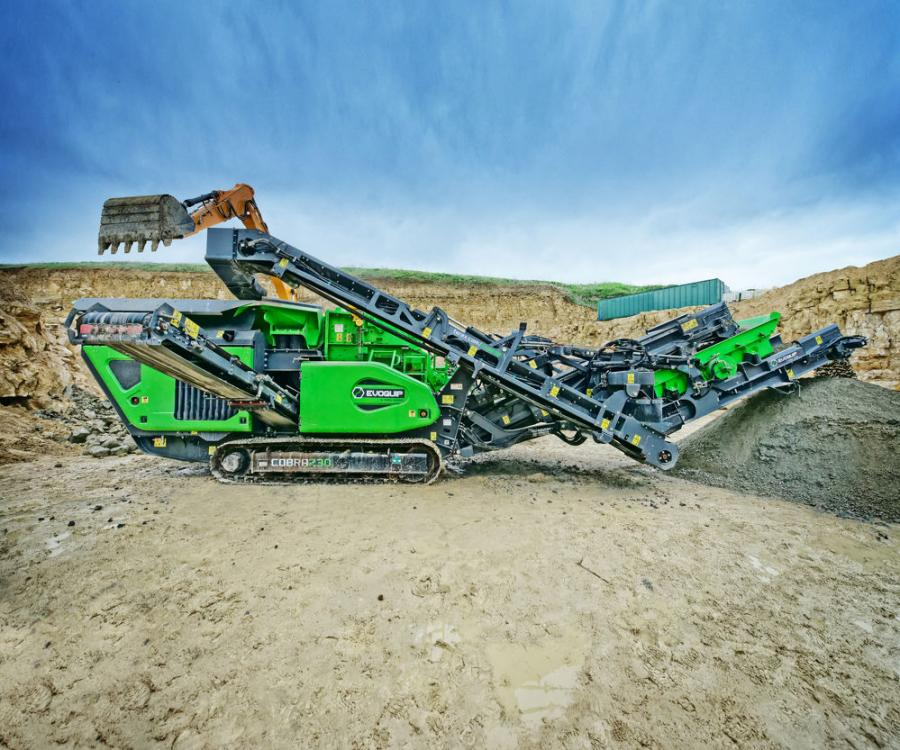 The Cobra 230R is a closed circuit version of the Cobra 230 that ensures the required product specification is achieved with oversize material either being recirculated back to the crusher or stockpiled.