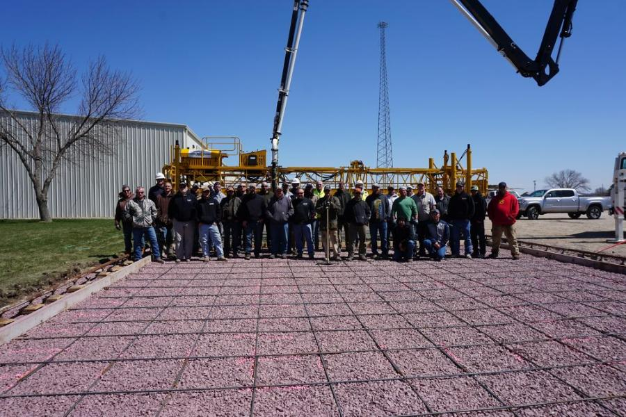 More than 50 Terex Bid-Well customers participated in Terex Bid-Well's annual service school, which took place April in Canton, S.D.