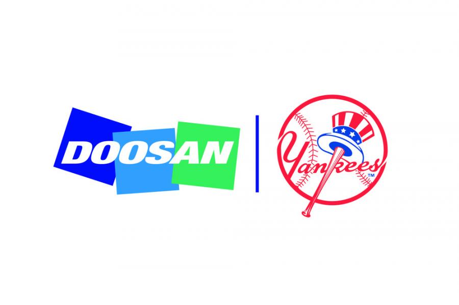The partnership will provide Doosan with branding and marketing benefits including permanent branding at the visiting team's on-deck location, exclusive VIP hospitality experiences throughout the season, and other experiences with players at Yankee Stadium.
