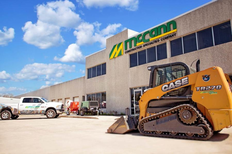 In addition to offering the full line of Case Construction Equipment, McCann stocks an extensive inventory of tools and light equipment.