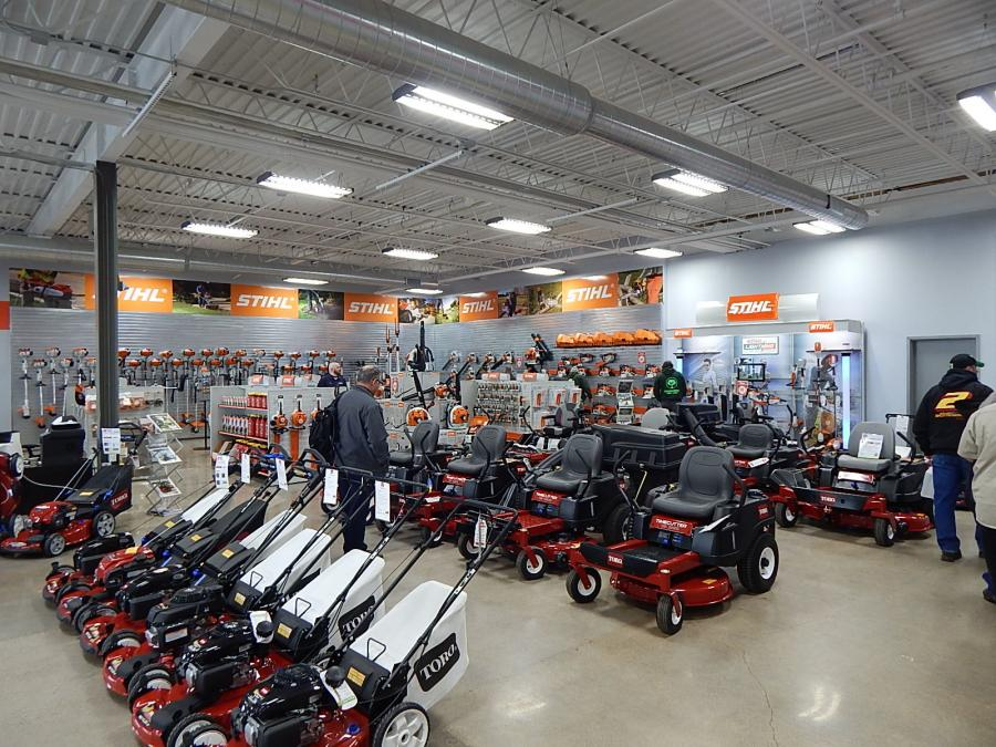 Features of the new facility include a more than 10,000-sq.-ft. showroom.