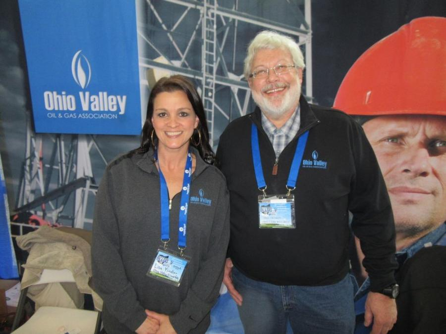 Lisa Kindler and Paul Cramer of the Ohio Valley Oil & Gas Association said the show was a great opportunity to catch up with members and network with industry professionals.